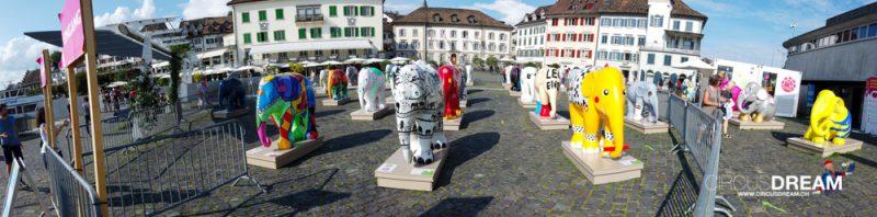 100 Jahre Knie-Elefanten - Rapperswil-Jona SG 2020