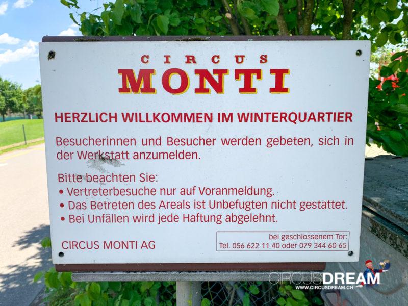 Circus Monti - Wohlen AG 2020