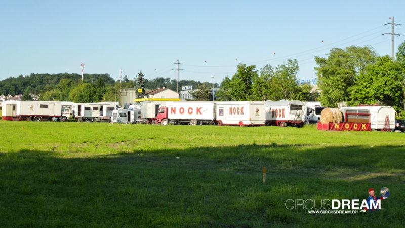 Circus Nock (Nostalgie) :: Wiesendangen ZH 2013 :: Die Ankunft