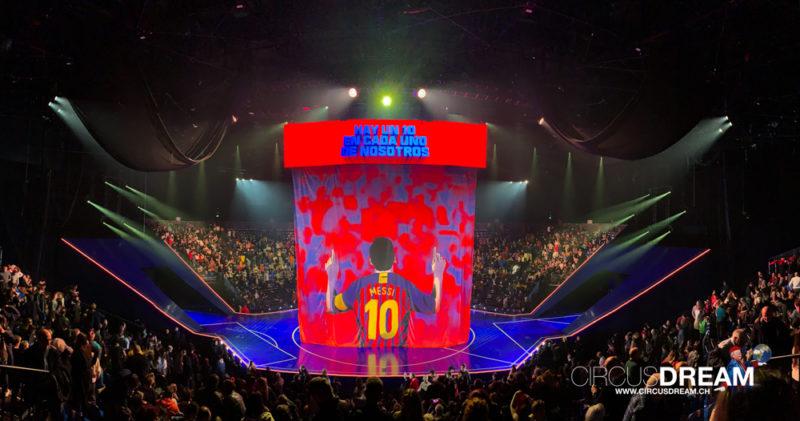 Cirque du Soleil (MESSI 10 ) - Barcelona (ESP) 2020