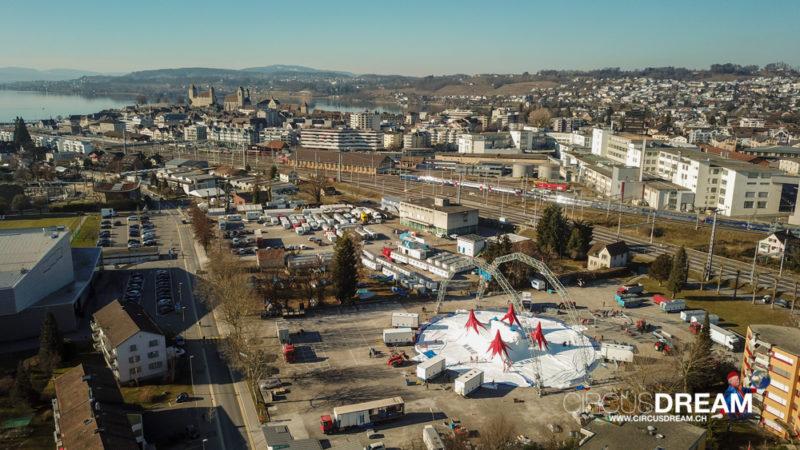 Schweizer National-Circus Knie (100 Jahre) - Rapperswil-Jona SG