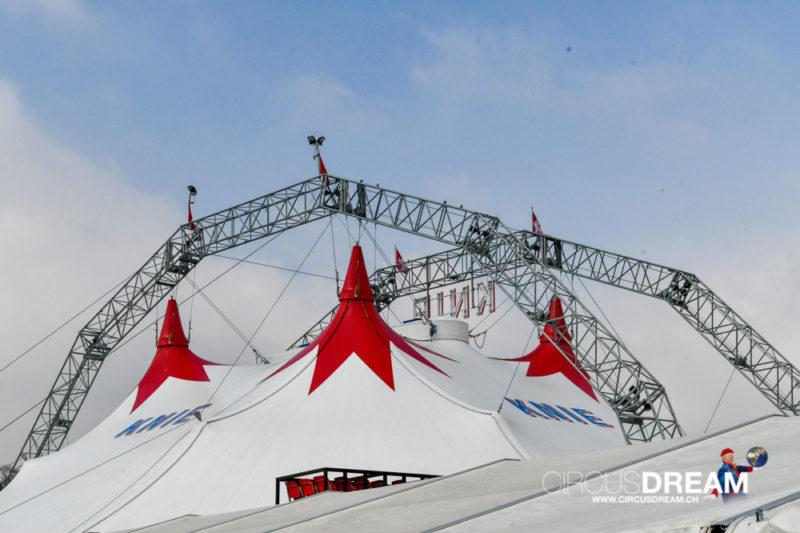 Schweizer National-Circus Knie (100 Jahre) - Winterthur ZH 2019