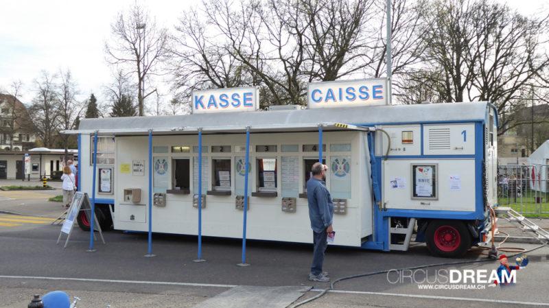 Schweizer National-Circus Knie - Schaffhausen SH 2017