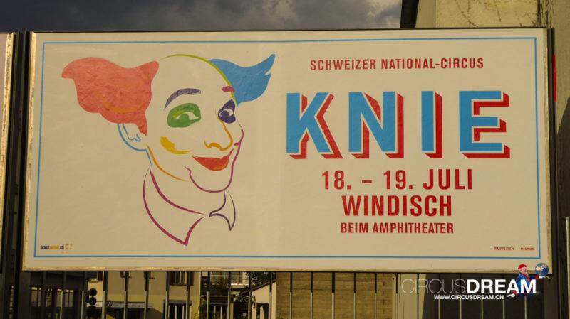 Schweizer National-Circus Knie - Windisch-Brugg AG 2017