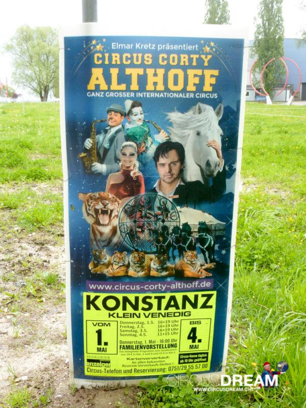 Circus Corty Althoff - Konstanz (D) 2014