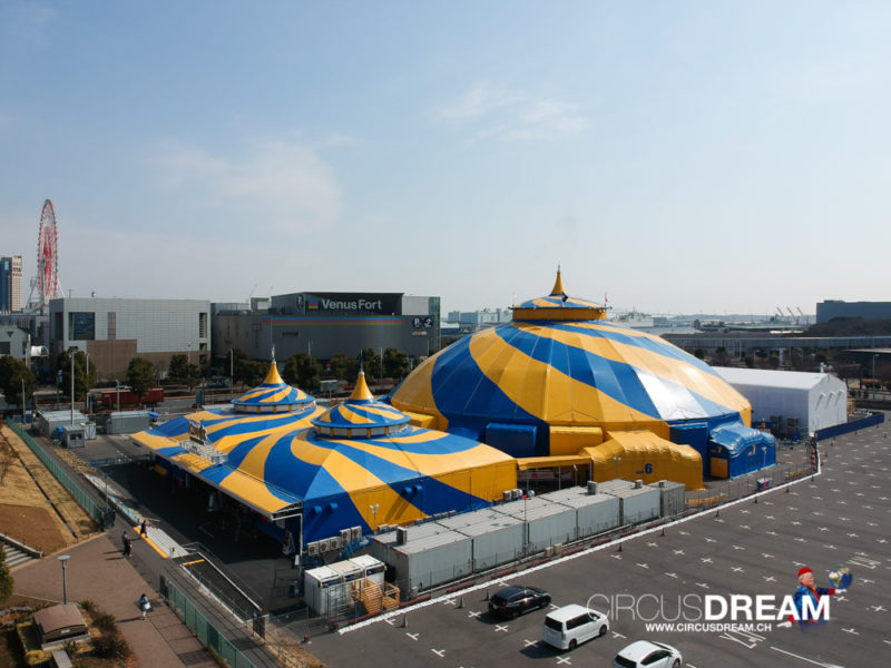 Cirque du Soleil (KURIOS) - Tokyo (JP) 2018