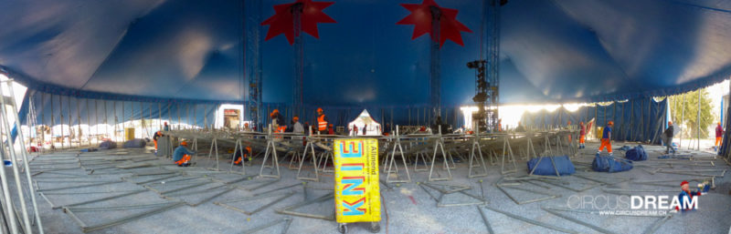 Schweizer National-Circus Knie - Rapperswil-Jona SG 2014