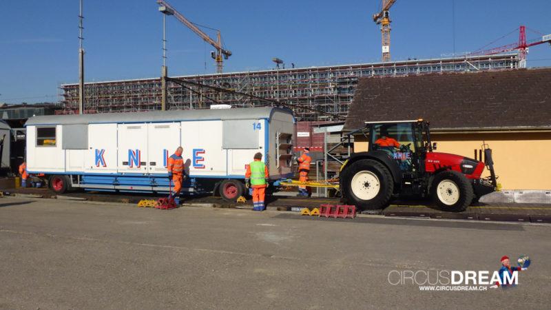 Schweizer National-Circus Knie - Winterthur ZH 2014