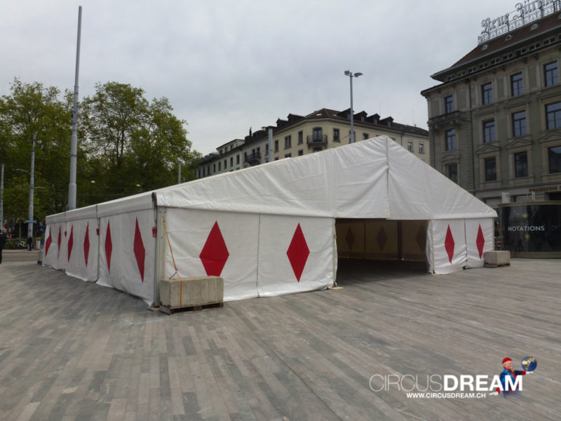 Schweizer National-Circus Knie - Zürich ZH 2014