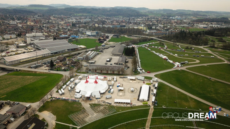Schweizer National-Circus Knie - Frauenfeld TG 2018
