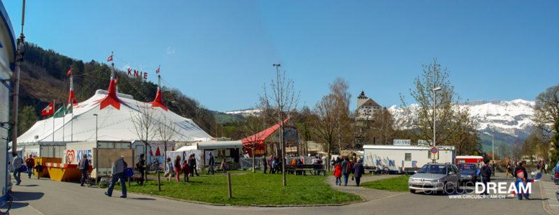 Schweizer National-Circus Knie - Buchs SG 2003