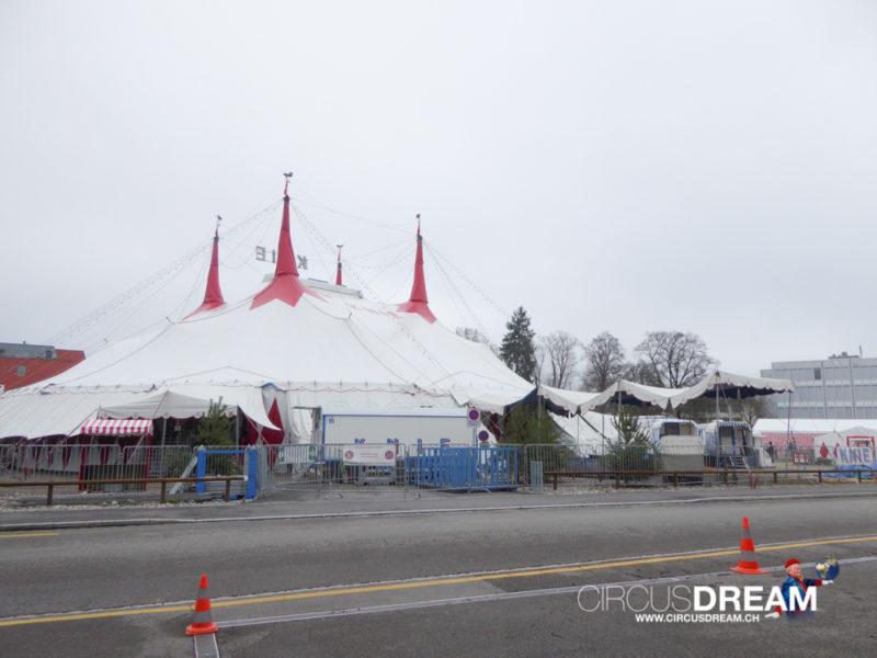 Schweizer National-Circus Knie - Winterthur ZH 2015