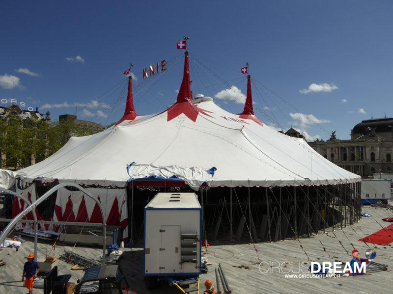 Schweizer National-Circus Knie - Zürich ZH 2015
