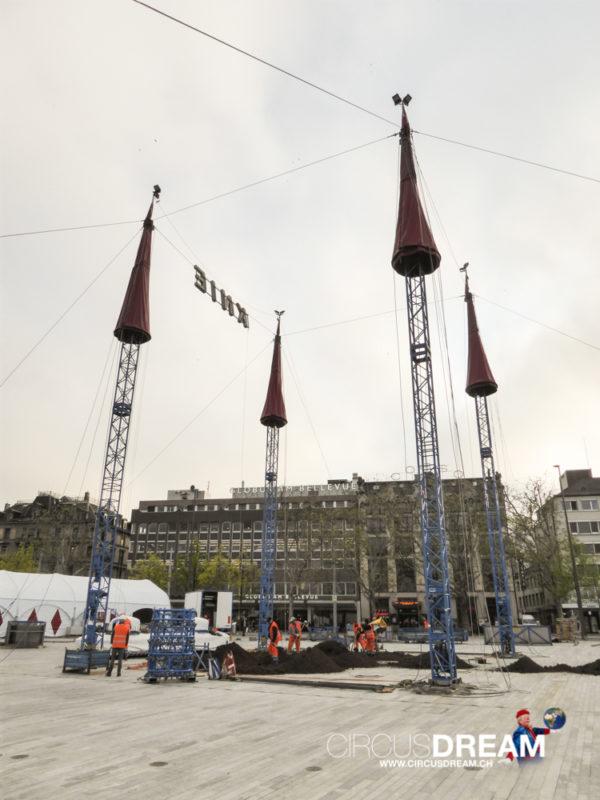 Schweizer National-Circus Knie - Zürich ZH 2016