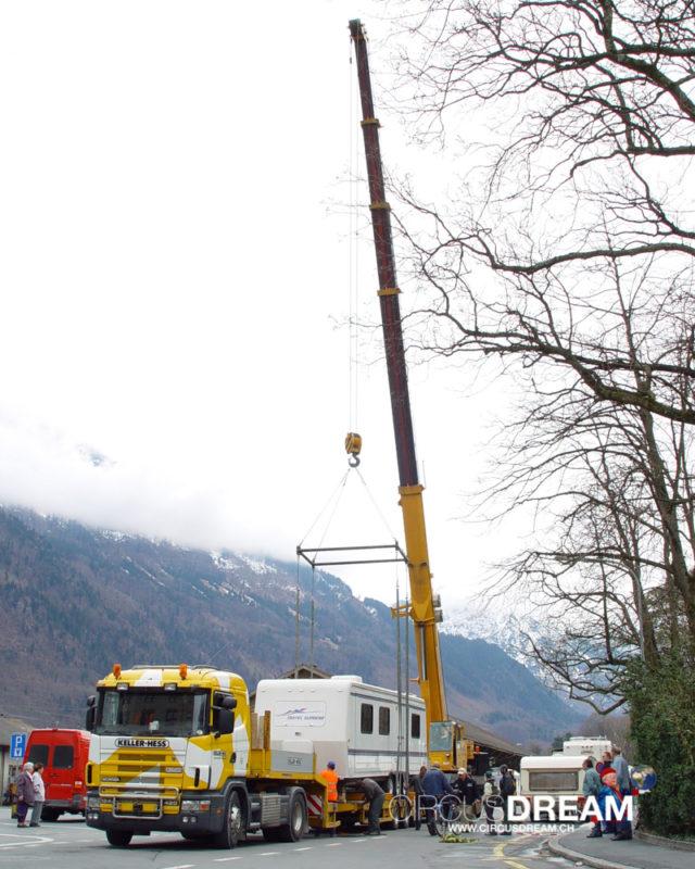 Schweizer National-Circus Knie - Glarus GL 2004