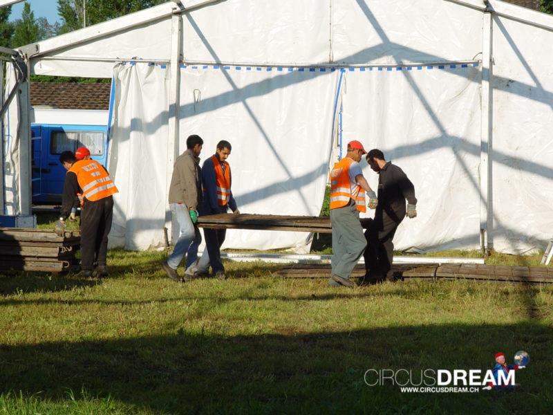 Schweizer National-Circus Knie - Windisch-Brugg AG 2004