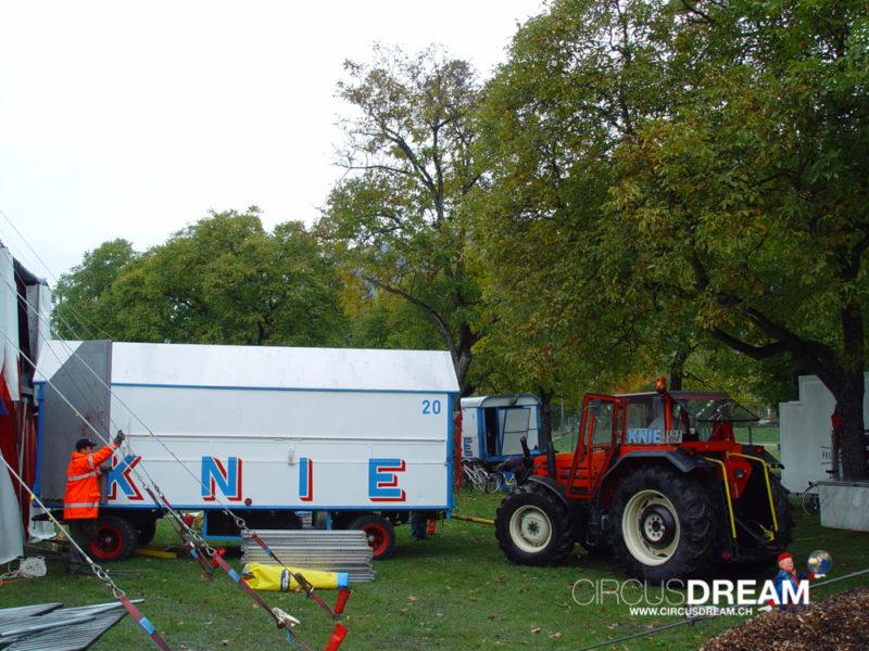 Schweizer National-Circus Knie - Aigle VD 2003
