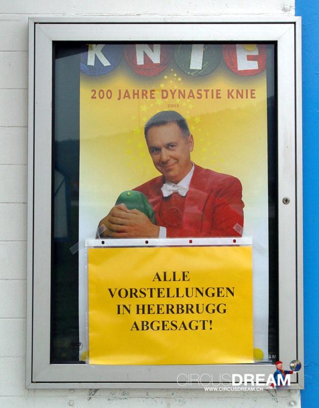 Schweizer National-Circus Knie - Au-Heerbrugg SG 2003