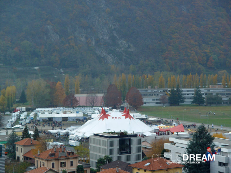 Schweizer National-Circus Knie - Bellinzona TI 2003