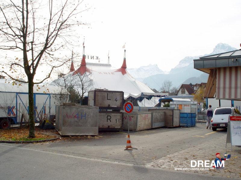 Schweizer National-Circus Knie - Brunnen SZ 2003