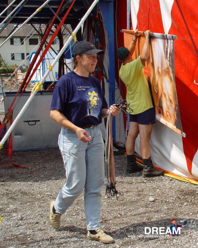 Schweizer National-Circus Knie - Bülach ZH 2003