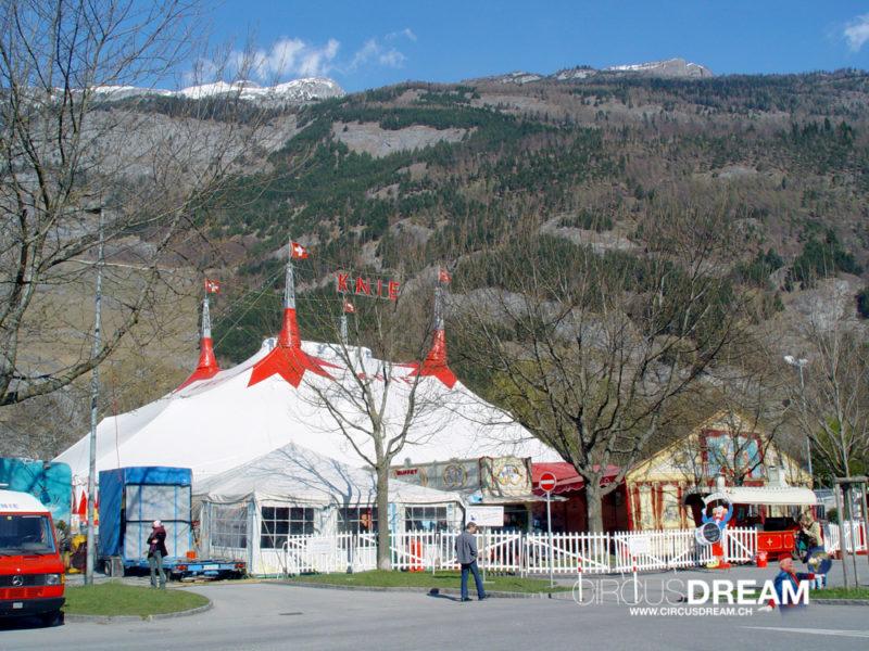 Schweizer National-Circus Knie - Chur GR 2003