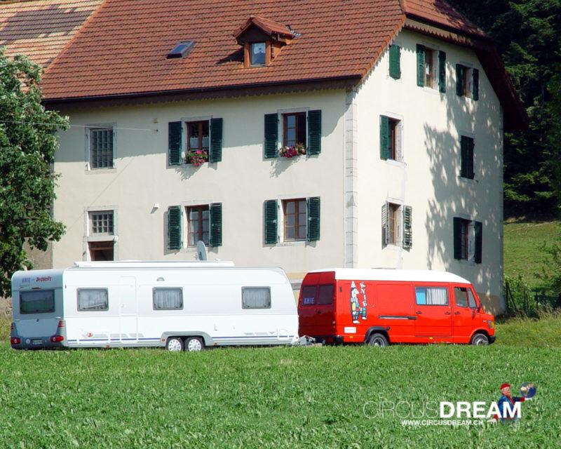 Schweizer National-Circus Knie - La Chaux-de-Fonds NE 2003