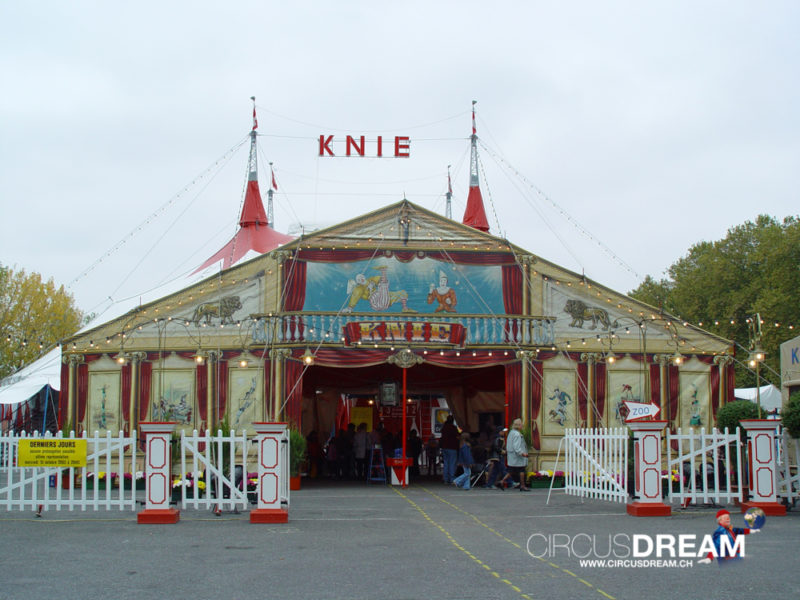 Schweizer National-Circus Knie - Lausanne VD 2003