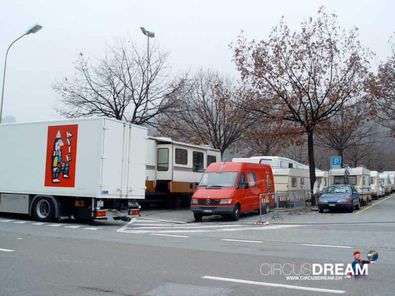 Schweizer National-Circus Knie - Lugano TI 2003