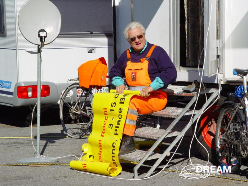 Schweizer National-Circus Knie - Martigny VS 2003