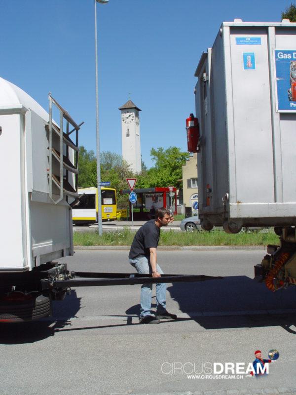 Schweizer National-Circus Knie - Schaffhausen SH 2003