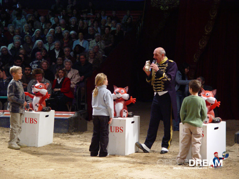 Schweizer National-Circus Knie - Sion VS 2003