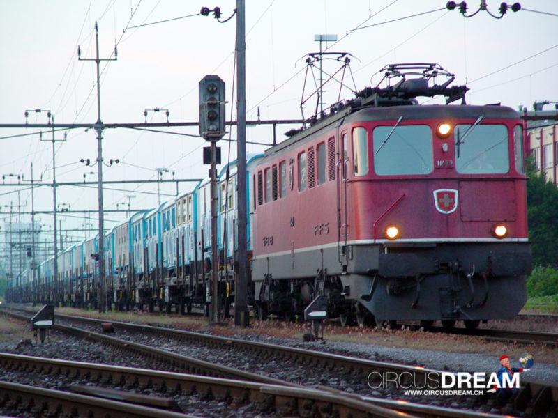 Schweizer National-Circus Knie - Wettingen AG 2003