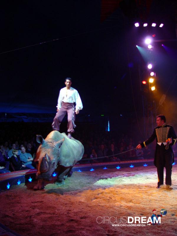 Schweizer National-Circus Knie - Zürich ZH 2003 BE 2003