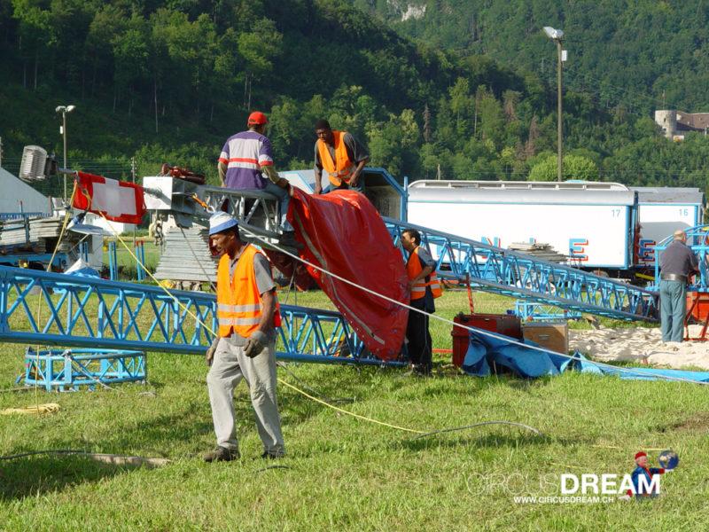Schweizer National-Circus Knie - Balsthal SO 2004