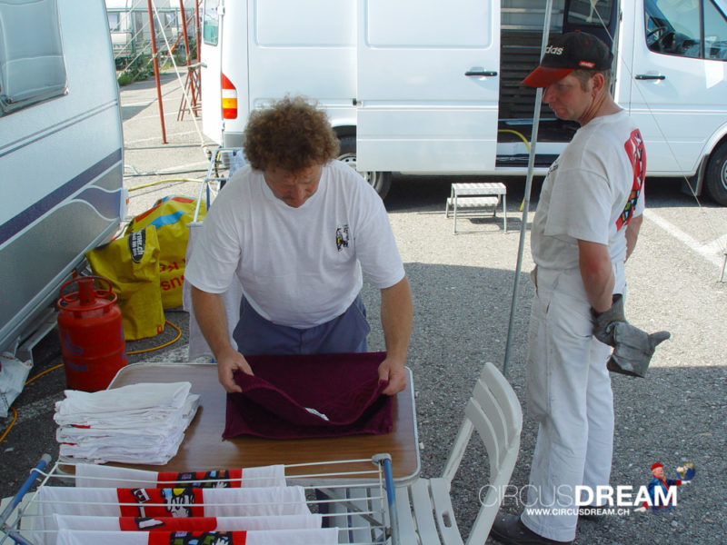 Schweizer National-Circus Knie - Basel BL 2004