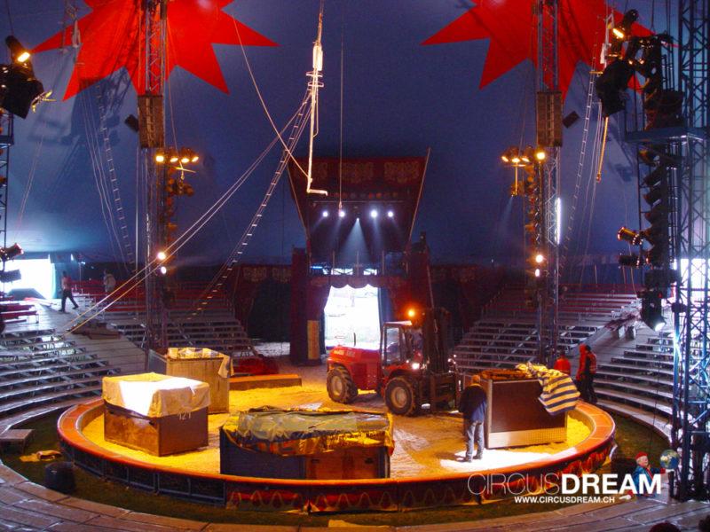 Schweizer National-Circus Knie - Aigle VD 2004