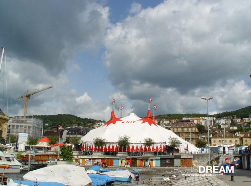 Schweizer National-Circus Knie - Neuchâtel NE 2004