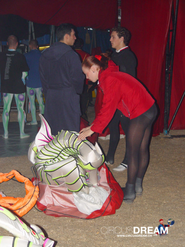 Schweizer National-Circus Knie - Sion VS 2004
