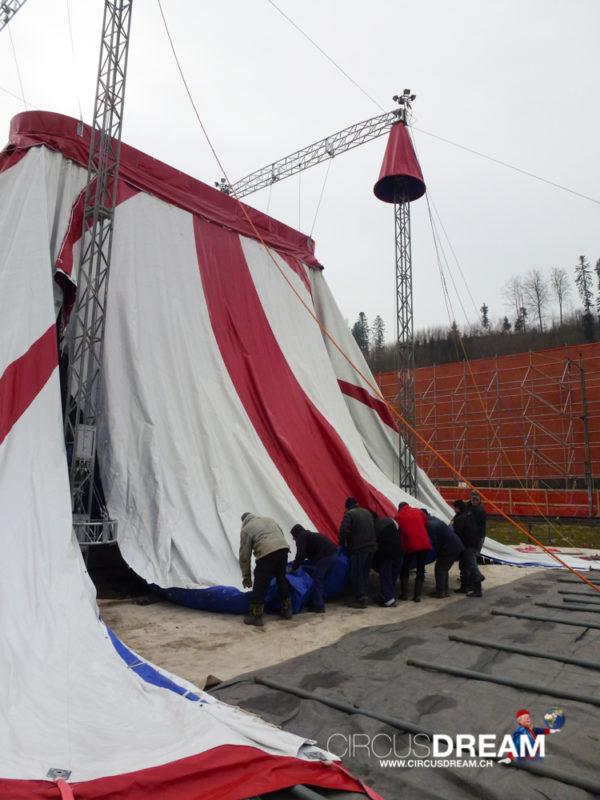 Zirkus Stey - Bauma ZH 2013
