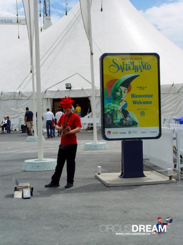 Cirque du Soleil (Saltimbanco) - Genève GE 2003