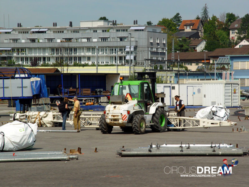 Cirque du Soleil (Saltimbanco) - Zürich ZH 2003