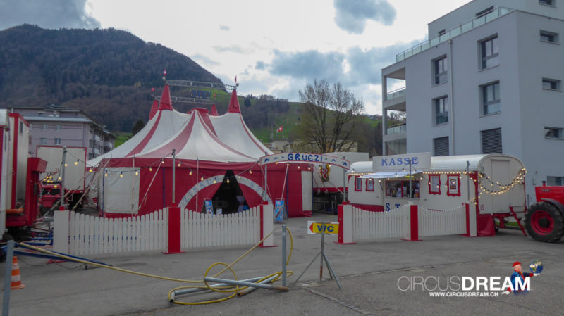 Zirkus Stey - Siebnen (SZ) 2018