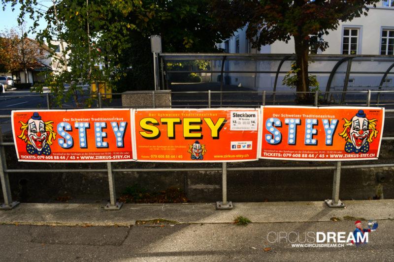 Zirkus Stey - Steckborn (TG) 2018