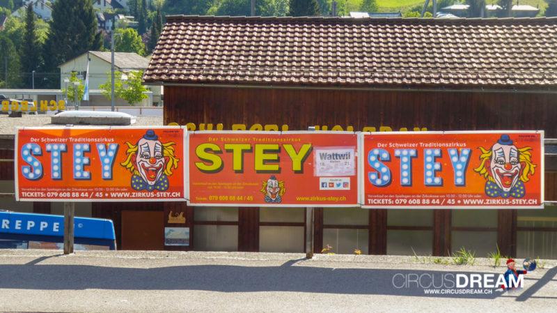 Zirkus Stey - Wattwil (SG) 2018